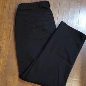 Just My Size Black 20W Jeans